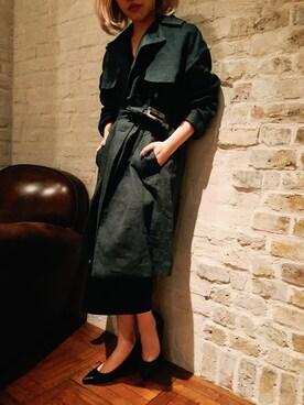ADAM ET ROPE'LUMINE横浜|ayaさんの(Traditional Weatherwear|トラディショナルウェザーウェア)を使ったコーディネート