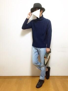 Mochiさんの(GU|ジーユー)を使ったコーディネート