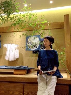 45R 東京ミッドタウン店 ヤマダさんの(petite robe noir プティ ローブ ノアー)を使ったコーディネート