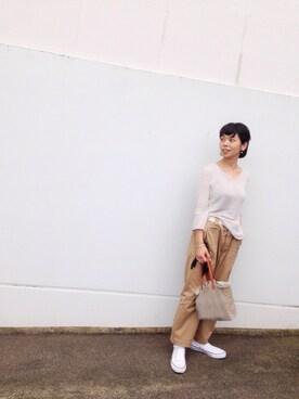 45R 東京ミッドタウン|ヤマダさんの(evameva)を使ったコーディネート