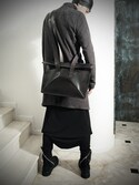 S/STEREFLAGSHIPSTOREKYOTOさんの「KAI ≫ BAG 09 S/STERE FLAGSHIP STORE EXCLUSIVE [BL1](SISTERE|システレ)」を使ったコーディネート