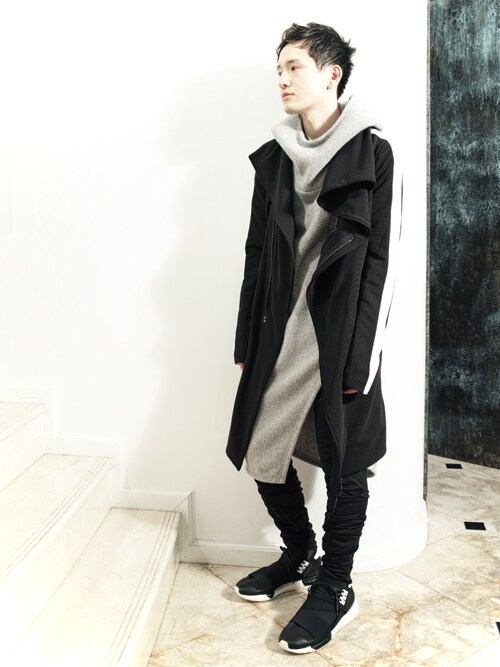 S/STEREFLAGSHIPSTOREKYOTOさんの「LINED CHESTER FIELD COAT(SISTERE)」を使ったコーディネート