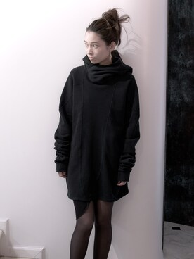 S/STERE FLAGSHIP STORE KYOTO|システレ京都店さんの「HOLD UP LONG SLEEVE SWEAT PARKA [BLACK](SISTERE)」を使ったコーディネート