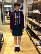 「Tartan Shirt(FRED PERRY)」 using this FRED PERRY 金沢百番街リント あかね looks