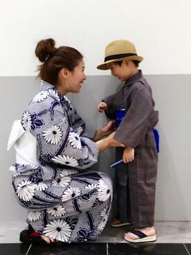 PATAZOさんの「【京都丸紅×CIAOPANIC TYPY】菊づくし浴衣帯SET(CIAOPANIC TYPY)」を使ったコーディネート