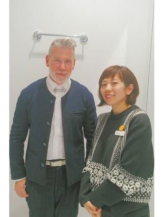 ユナイテッドアローズ 原宿本店 メンズ館|Satoko Takeshitaさんの「SONS(サンズ) C-JACKET(UNITED ARROWS & SONS|ユナイテッドアローズ アンド サンズ)」を使ったコーディネート