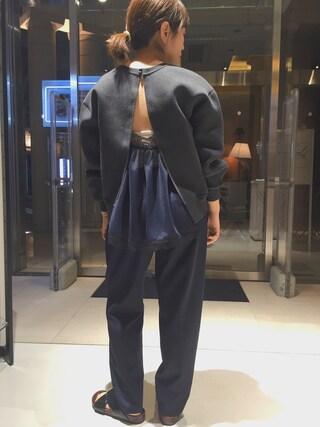 ユナイテッドアローズ 原宿本店 メンズ館|Satoko Takeshitaさんの(NIKE✖️sacai)を使ったコーディネート