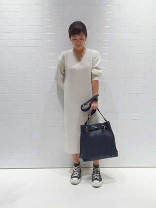 ユナイテッドアローズ 原宿本店 メンズ館|Satoko Takeshitaさんの「5525gallery×PORTER(5525ギャラリー×ポーター) FRINGE BAG(UNITED ARROWS & SONS|ユナイテッドアローズ アンド サンズ)」を使ったコーディネート