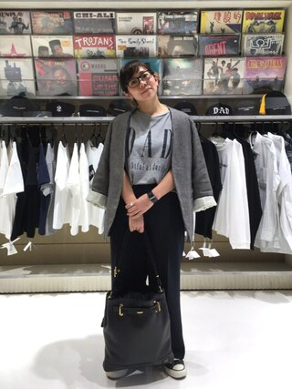 ユナイテッドアローズ 原宿本店 メンズ館|Satoko Takeshitaさんの「<6(ROKU)>NO COLLAR JACKET /ジャケット(BEAUTY&YOUTH UNITED ARROWS|ビューティアンドユースユナイテッドアローズ)」を使ったコーディネート