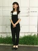 Rie Inoueさんの「【シンデレラ】ガラスの靴イヤークリップ(Disney|ディズニー)」を使ったコーディネート