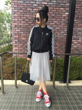 Reika kodamaさんの(adidas|アディダス)を使ったコーディネート