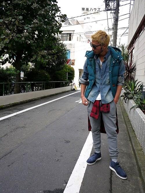 E.S.P. TOKYO | HIROKIさんのシャツ・ブラウス「FLIP THE SCRIPT 」を使ったコーディネート