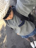 「Patagonia Synchilla Snap-T Fleece Hoodie - Gray(Patagonia)」 using this mnmxo looks