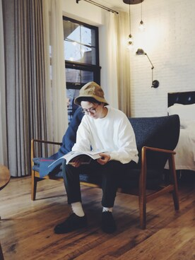 「Red Wing 'Postman' Oxford (Online Only)(Red Wing Shoes)」 using this 火星李萝卜 looks