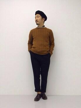 URBANRESEARCHプレスルーム YutaYanagihoriさんの(URBAN RESEARCH アーバンリサーチ)を使ったコーディネート