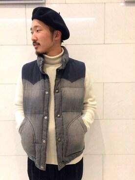URBANRESEARCHプレスルーム|YutaYanagihoriさんの(URBAN RESEARCH|アーバンリサーチ)を使ったコーディネート