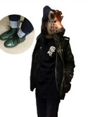 「Dr. Martens '1460 W' Boot(Dr. Martens)」 using this たまごてんぐだけ looks