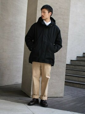FRED PERRY 有楽町マルイ|KYOSUKE さんの「Down Jacket(FRED PERRY)」を使ったコーディネート