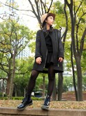 「Dr. Martens 1460 W 8-Eye Boot(Dr. Martens)」 using this 平 祐奈 | Yuna Taira looks