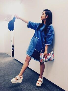 平 祐奈 | Yuna Tairaさんの(JOYRICH|ジョイリッチ)を使ったコーディネート