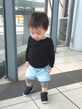 kotochiさんの(babyGAP|babyGAP)を使ったコーディネート