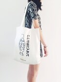 「Big Shopper Tote(house of cards)」 using this Ashiya looks