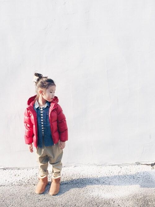 040ba6df29106 芸能人にも人気のモンクレール(MONCLER)の子供服をご紹介♡ブランド ...