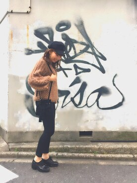MILKFED. AT HEAVEN27 名古屋|MARIさんの「SUEDE BUCKET BAG(MILKFED.|ミルクフェド)」を使ったコーディネート