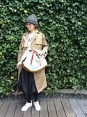 Kazumiさんの「BASIC CARRY TOTE BAG(LBC|エルビーシー)」を使ったコーディネート
