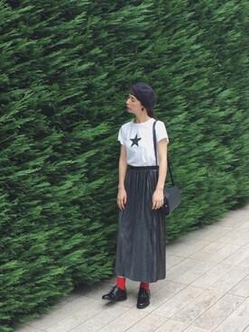 Kazumiさんの「SAC DEMI-LUNE 15A(A.P.C.|アー・ペー・セー)」を使ったコーディネート