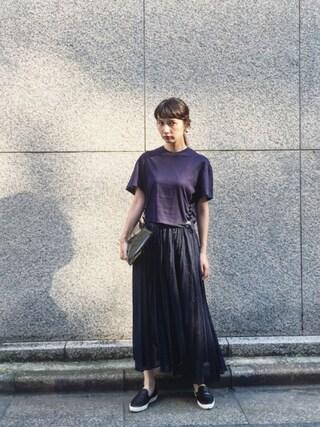 Kazumiさんの「<TOGA>CONCHO TEE-united LOVE project2016 †(TOGA PULLA トーガ プルラ)」を使ったコーディネート