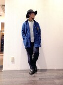 「Limited-edition Alden® for J.Crew Alpine longwing bluchers(Alden)」 using this FUkuu looks