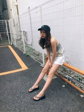 吉木千沙都さんの(GYDA|ジェイダ)を使ったコーディネート