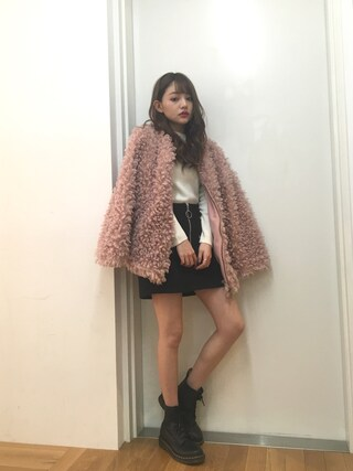 「Dr.Martens / PASCAL パスカル 8ホール ブーツ(Ray BEAMS)」 using this 吉木千沙都 looks