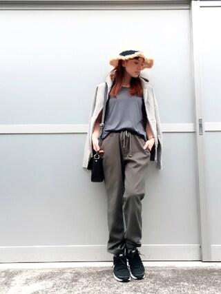 YUUKIさんの「吊裏毛 ZIP PARKA(DRESSTERIOR|ドレステリア)」を使ったコーディネート
