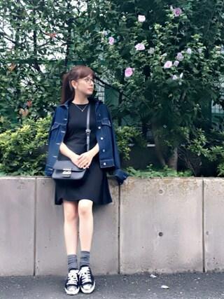 YUUKIさんの「STILES(OLIVER PEOPLES|オリバーピープルズ)」を使ったコーディネート