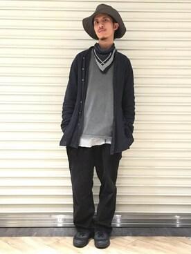 Ciaopanic新宿店|KENさんの(AUGUSTE PRESENTATION|オーギュストプレゼンテーション)を使ったコーディネート