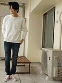 yuさんの「ALL STAR WFL OX / オールスター WFL OX(CONVERSE|コンバース)」を使ったコーディネート