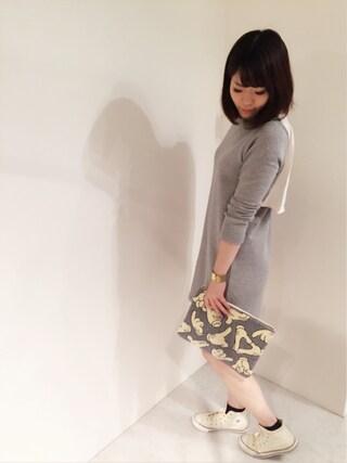 actuel 名古屋セントラルパーク店|Aki.kさんの(CONVERSE|コンバース)を使ったコーディネート