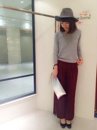 actuel 名古屋セントラルパーク店|Aki.kさんの(INTERPLANET WINGS|インタープラネットウィング)を使ったコーディネート