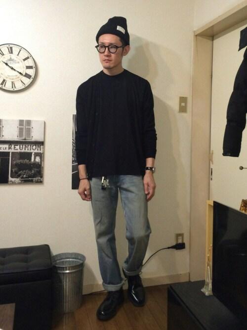 搭配uniqlo罩衫的时尚穿搭总览(身高:171cm~180cm)