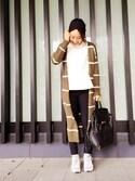 「Alexander Wang Prisma Skeletal Leather Backpack(Alexander Wang)」 using this YUKIHA looks