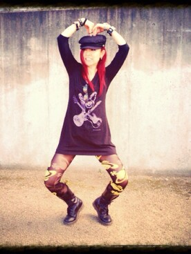 (Dr. Martens) using this ばん looks