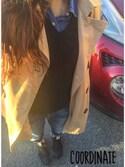 「Ralph Lauren Long-Sleeve Tissue Sweater, Black(Ralph Lauren)」 using this hirono looks