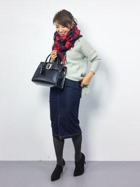 ZOZOTOWN|natsuさんの(JEANASIS|ジーナシス)を使ったコーディネート