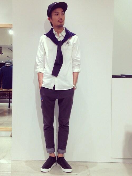 ANOUT COMMUNE大阪店   kuzumonさんのシャツ・ブラウス「rehacer 」を使ったコーディネート