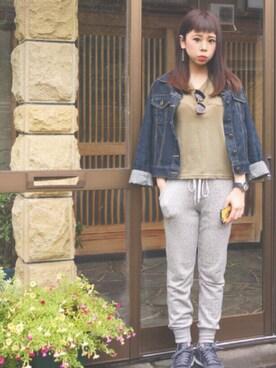 kimu_rikaさんの(abc une face|アーベーセーアンフェイス)を使ったコーディネート