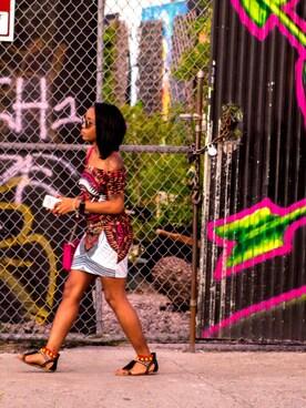 (H&M) using this Christine DeSilva looks