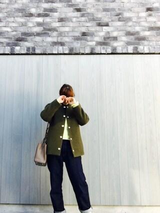 藤本美貴さんの(BLACK BY MOUSSY|ブラックバイマウジー)を使ったコーディネート
