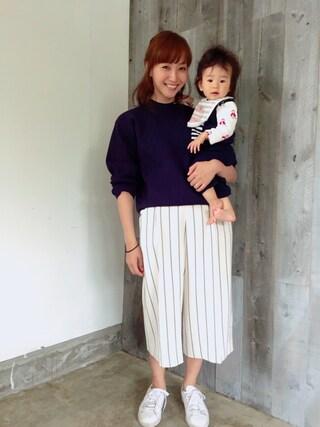 藤本美貴さんの(N.HOOLYWOOD|エヌハリウッド)を使ったコーディネート